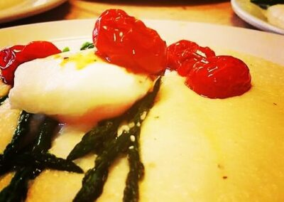 Polenta with Poached Eggs