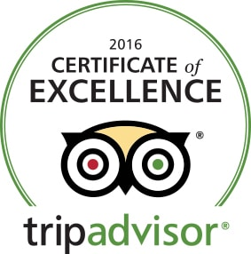 trip advisor certificate of excellence, award winning, best b&b ashland, oregon