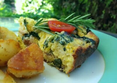 Gourmet breakfast at Bayberry Inn Ashland, Oregon