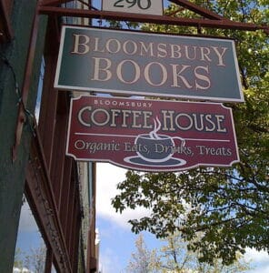 Bloomsbury Books & Coffee House in Ashland Oregon.