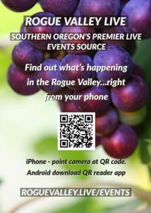 Rogue Valley Live Events Calendar