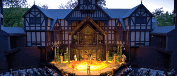 Oregon Shakespeare Festival Outdoor Elizabethan Theatre in Ashland Oregon Elizabethan theatre